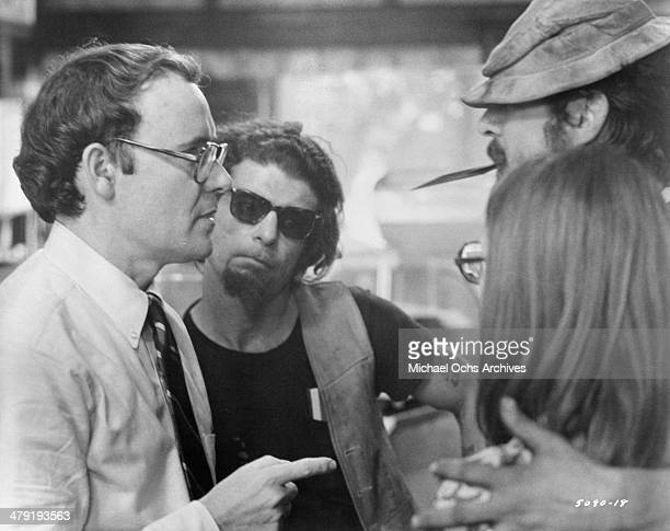 Actor Buck Henry in a scene from the Universal Studio movie Taking Off circa 1971