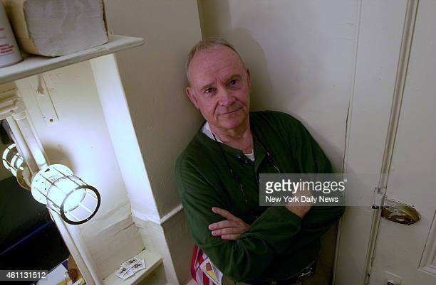 Actor Buck Henry in his dressing room at the Lyceum theater He is performing here in the production of Morning At Seven