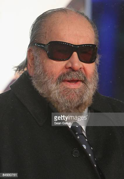 Actor Bud Spencer attends the premiere of 'Mord Ist Mein Geschaeft Liebling' at the Sony Center CineStar on February 19 2009 in Berlin Germany