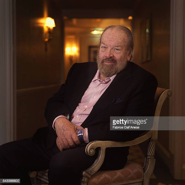 Actor Bud Spencer is photographed for Self Assignment on February 24 2004 in Berlin Germany