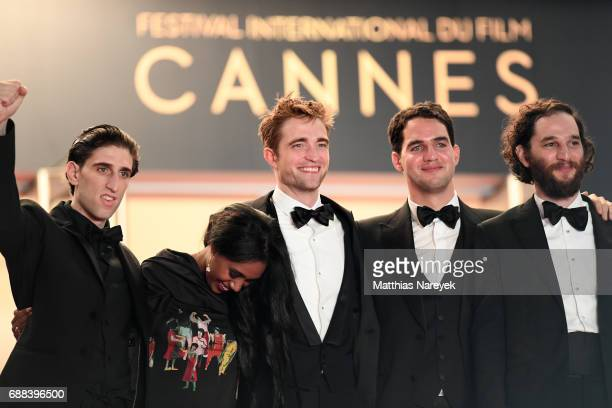Actor Buddy Duress actress Taliah Webster actor Robert Pattinson writer and codirector Ben Safdie and Codirector Joshua Safdie attend the 'Good Time'...