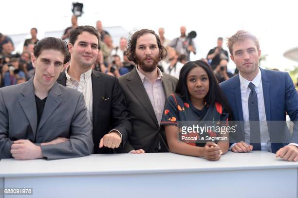 Actor Buddy Duress codirector Ben Safdie writer and codirector Joshua Safdie actress Taliah Webster and actor Robert Pattinson attend the 'Good Time'...