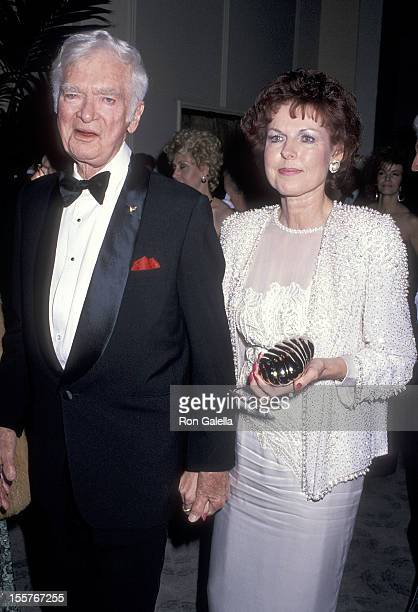 Actor Buddy Ebsen and wife Dorothy Knott attend the Sixth Annual American Cinema Awards on January 6 1989 at the Beverly Hilton Hotel in Beverly...