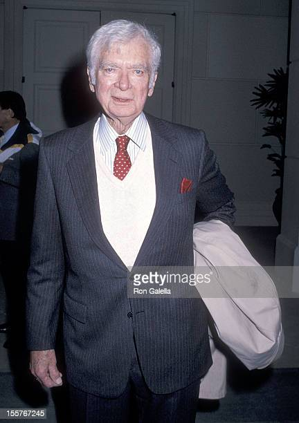 Actor Buddy Ebsen attends the Sixth Annual American Cinema Awards Rehearsals on January 5 1989 at the Beverly Hilton Hotel in Beverly Hills California