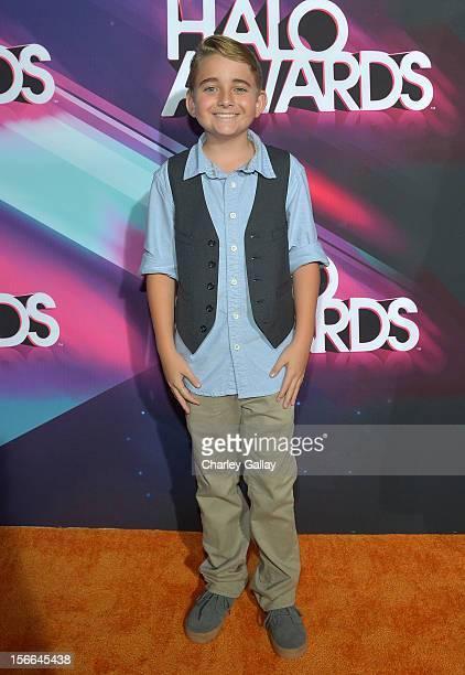 Actor Buddy Handleson arrives at Nickelodeon's 2012 TeenNick HALO Awards at Hollywood Palladium on November 17 2012 in Hollywood California The show...