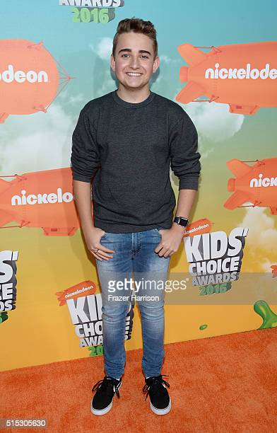 Actor Buddy Handleson attends Nickelodeon's 2016 Kids' Choice Awards at The Forum on March 12 2016 in Inglewood California