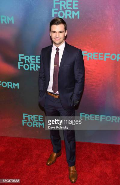 Actor Burkely Duffield of 'Beyond' attends Freeform 2017 Upfront at Hudson Mercantile on April 19 2017 in New York City