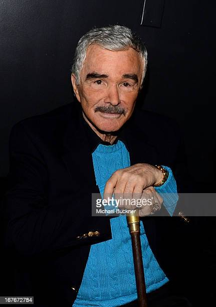 Actor Burt Reynolds attends Deliverance screening during the 2013 TCM Classic Film Festival at TCL Chinese Theatre on April 27 2013 in Los Angeles...