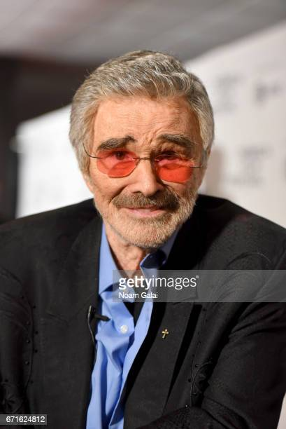 Actor Burt Reynolds attends the Dog Years Premiere during 2017 Tribeca Film Festival at Cinepolis Chelsea on April 22 2017 in New York City