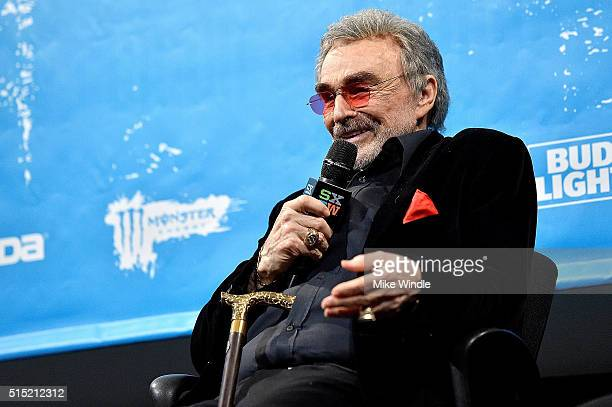 Actor Burt Reynolds attends the screening of The Bandit during the 2016 SXSW Music Film Interactive Festival at Paramount Theatre on March 12 2016 in...