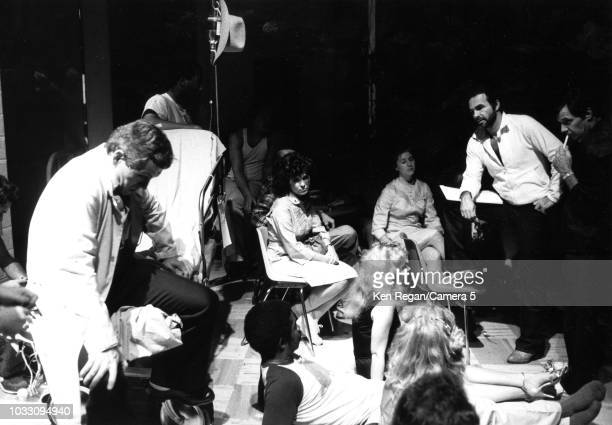 Actor Burt Reynolds is photographed directing 'One Flew Over the Cuckoos Nest' in 1982 in Jupiter Florida CREDIT MUST READ Ken Regan/Camera 5 via...