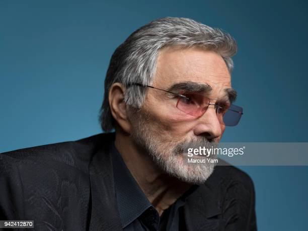 Actor Burt Reynolds is photographed for Los Angeles Times on March 21 2018 in Beverly Hills California PUBLISHED IMAGE CREDIT MUST READ Marcus...