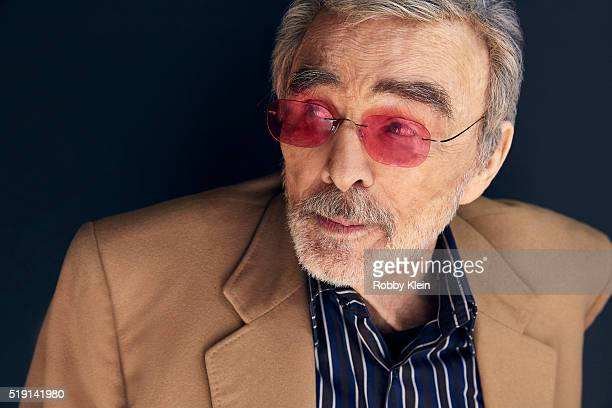 Actor Burt Reynolds is photographed for The Wrap on March 13 2016 in Austin Texas
