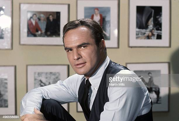 Actor Burt Reynolds poses for a portrait on the set of his TV show 'Hawk' in 1966 in Los Angeles California