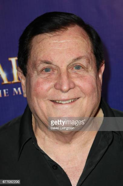 Actor Burt Ward arrives at the premiere of The Bodyguard at the Pantages Theatre on May 2 2017 in Hollywood California