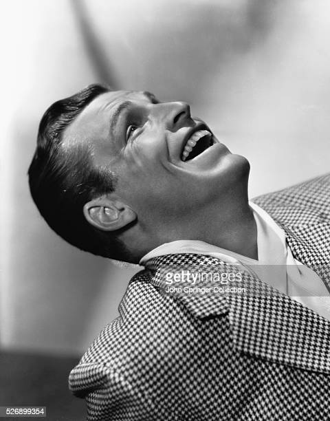 Actor Buster Crabbe Laughing