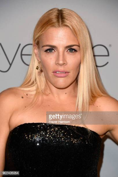 Actor Busy Philipps attends the 19th Annual PostGolden Globes Party hosted by Warner Bros Pictures and InStyle at The Beverly Hilton Hotel on January...