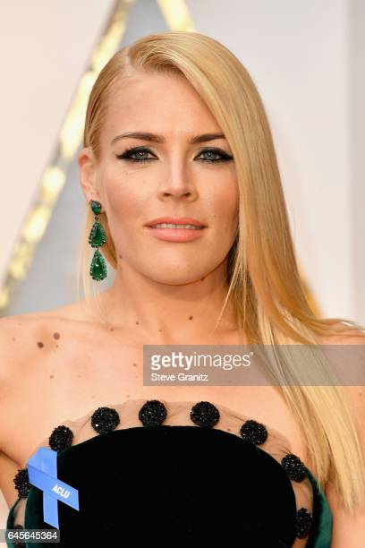 Actor Busy Philipps attends the 89th Annual Academy Awards at Hollywood Highland Center on February 26 2017 in Hollywood California