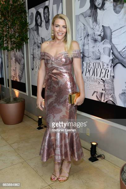 Actor Busy Philipps attends the Daily Front Row's 3rd Annual Fashion Los Angeles Awards at Sunset Tower Hotel on April 2 2017 in West Hollywood...
