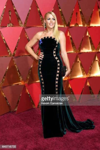 Actor Busy Phillips attends the 89th Annual Academy Awards at Hollywood Highland Center on February 26 2017 in Hollywood California