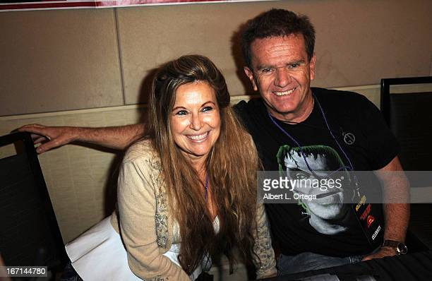 Actor Butch Patrick and sister attend The Hollywood Show held at Westin LAX Hotel on April 20 2013 in Los Angeles California