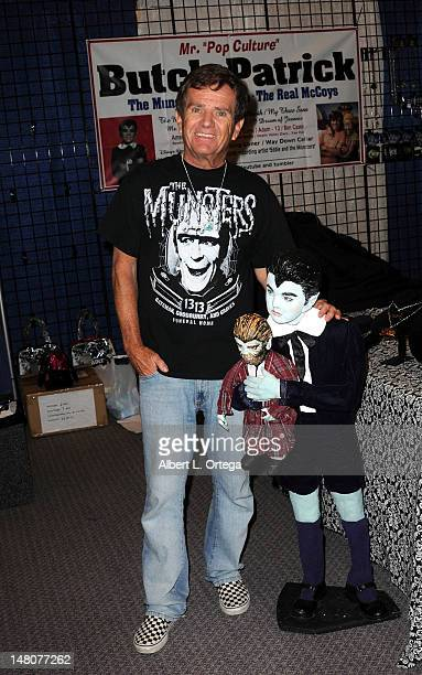 Actor Butch Patrick attends the 1st Annual PopCon LA Pop Culture Convention held at Los Angeles Convention Center on July 8 2012 in Los Angeles...