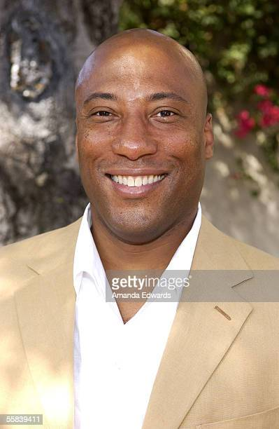 Actor Byron Allen attends the Rape Foundation's Annual Brunch at the home of Ron Burkle on October 2 2005 in Beverly Hills California