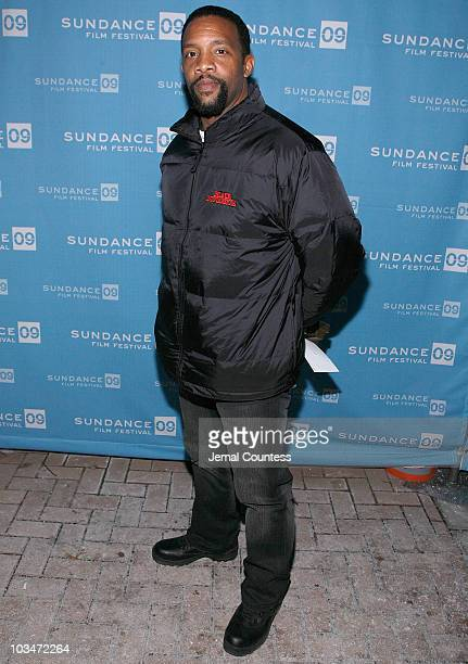 Actor Byron Mins attends the premiere of Black Dynamite during the 2009 Sundance Film Festival at Library Center Theatre on January 18 2009