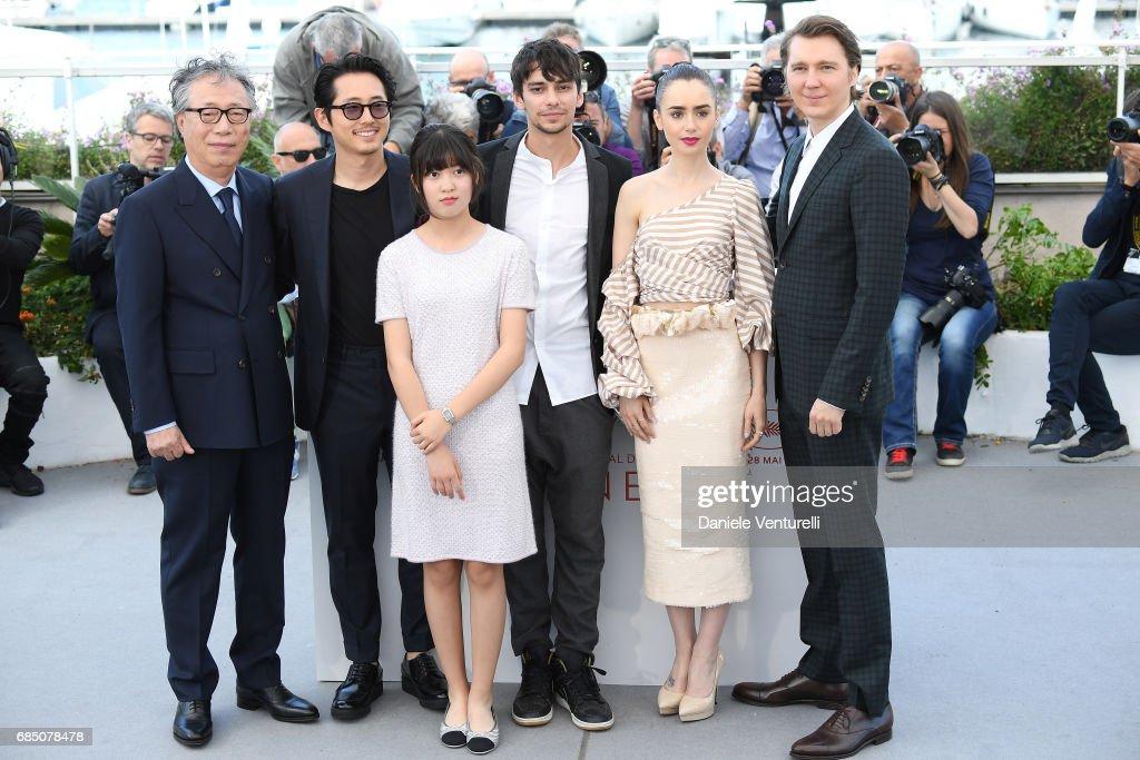 """Okja"" Photocall - The 70th Annual Cannes Film Festival : News Photo"