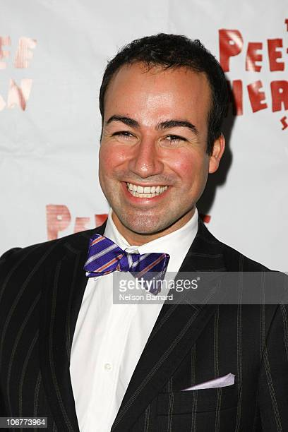 Actor Caesar Samayoa attends the Broadway opening night after party of The PeeWee Herman Show at Bryant Park Grill on November 11 2010 in New York...