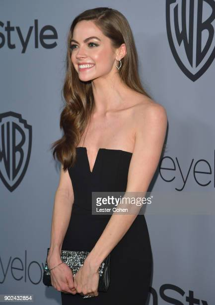 Actor Caitlin Carver attends 19th Annual PostGolden Globes Party hosted by Warner Bros Pictures and InStyle at The Beverly Hilton Hotel on January 7...