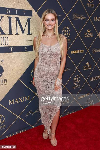 Actor Caitlin O'Connor attends the 2017 MAXIM Hot 100 Party at Hollywood Palladium on June 24 2017 in Los Angeles California