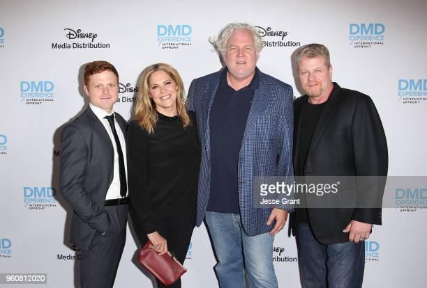 Actor Caleb Foote actress Mary McCormack executive producer Tim Doyle and actor Michael Cudlitz attend the Disney/ABC International Upfronts at the...