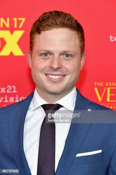 Actor Caleb Foote attends the premiere of FX's 'The Assassination Of Gianni Versace American Crime Story' at ArcLight Hollywood on January 8 2018 in...