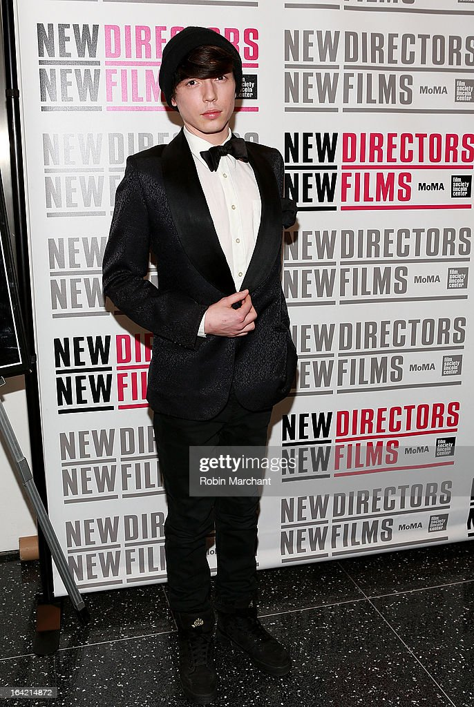 Actor Caleb James attends the New Directors/New Films 2013 Opening Night screening of 'Blue Caprice' at the Museum of Modern Art on March 20, 2013 in New York City.