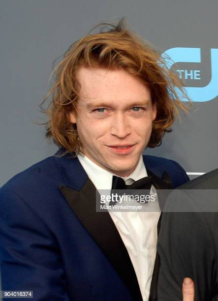 Actor Caleb Landry Jones attends The 23rd Annual Critics' Choice Awards at Barker Hangar on January 11 2018 in Santa Monica California