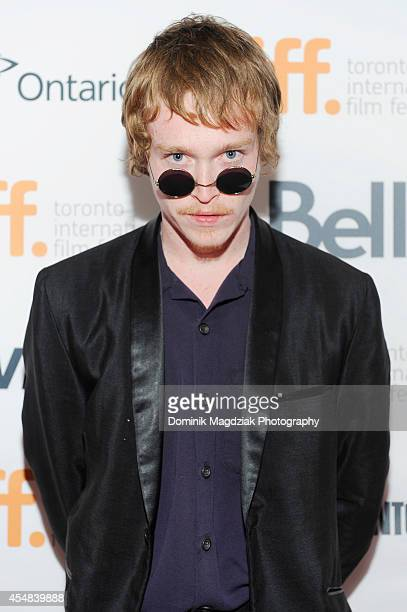 Actor Caleb Landry Jones attends the 'Heaven Knows What' premiere at the Toronto International Film Festival on September 6 2014 in Toronto Canada