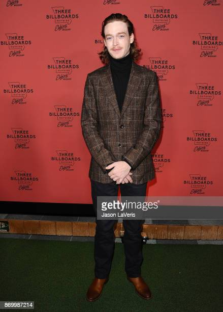 Actor Caleb Landry Jones attends the premiere of 'Three Billboards Outside Ebbing Missouri' at NeueHouse Hollywood on November 3 2017 in Los Angeles...