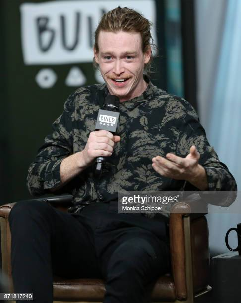 Actor Caleb Landry Jones discusses 'Three Billboards Outside Ebbing Missouri' at Build Studio on November 8 2017 in New York City