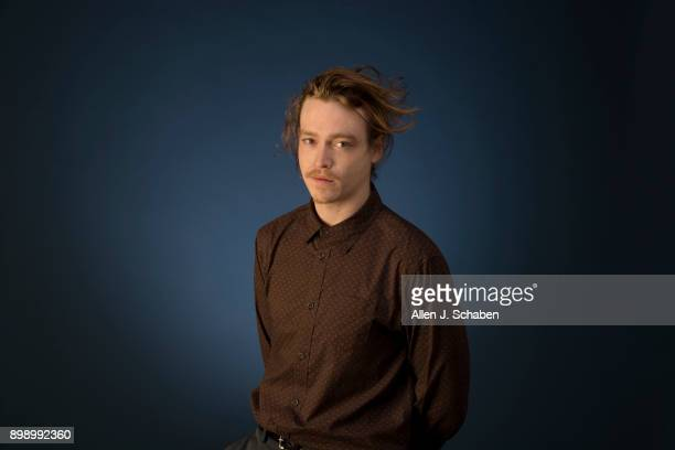 Actor Caleb Landry Jones is photographed for Los Angeles Times on November 14 2017 in Los Angeles California PUBLISHED IMAGE CREDIT MUST READ Allen J...