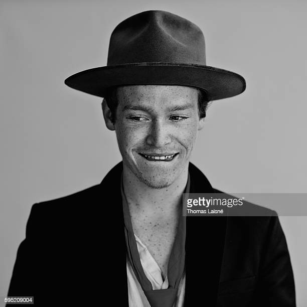 Actor Caleb Landry Jones is photographed for Self Assignment on May 23 2014 in Cannes France