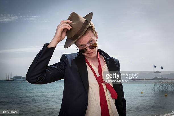 Actor Caleb Landry Jones is photographed for the Hollywood Reporter in Cannes France