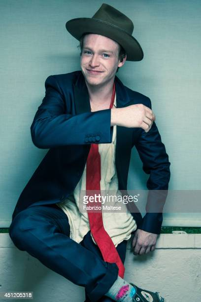 Actor Caleb Landry Jones is photographed in Cannes France