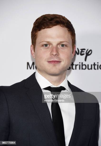 Actor Caleb Martin Foote arrives at the Disney/ABC International Upfronts at the Walt Disney Studio Lot on May 20 2018 in Burbank California