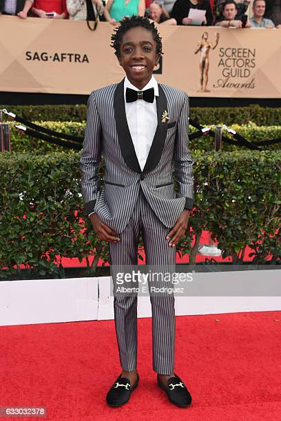 Actor Caleb McLaughlin attends the 23rd Annual Screen Actors Guild Awards at The Shrine Expo Hall on January 29 2017 in Los Angeles California