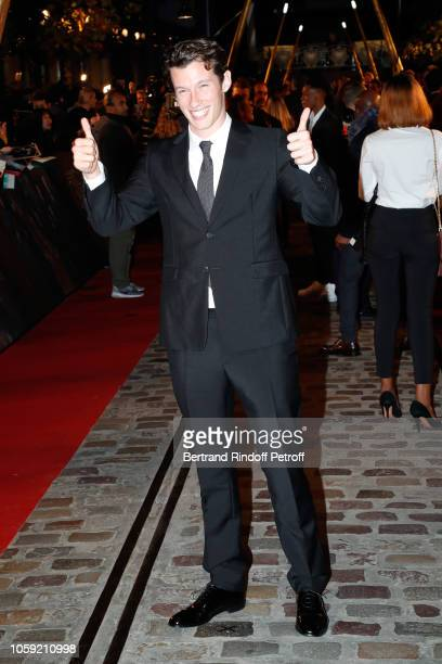 Actor Callum Turner attends the Fantastic Beasts The Crimes of Grindelwald World Premiere at UGC Cine Cite Bercy on November 8 2018 in Paris France