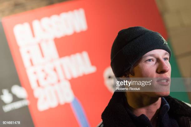Actor Callum Turner attends the UK Premiere of 'Mobile Homes' during the 14th Glasgow Film Festival at Glasgow Film Theatre on February 26 2018 in...