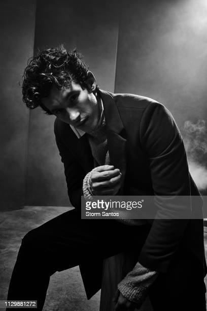 Actor Callum Turner is photographed for Rogue Magazine on September 28 2018 in Los Angeles California PUBLISHED IMAGE