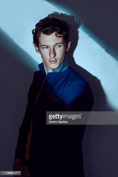Actor Callum Turner is photographed for Rogue Magazine on September 28 2018 in Los Angeles California