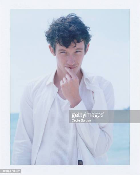Actor Callum Turner is photographed for Self Assignment on May 2014 in Cannes France